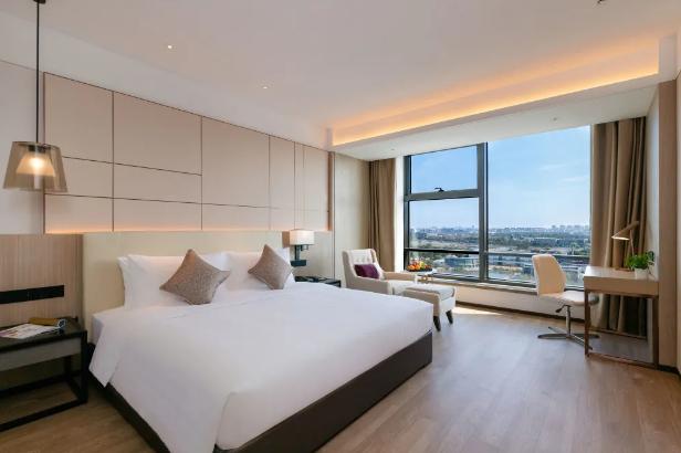 365体育直播回放区酒店群又迎新成员,上海虹桥睿景酒店开业