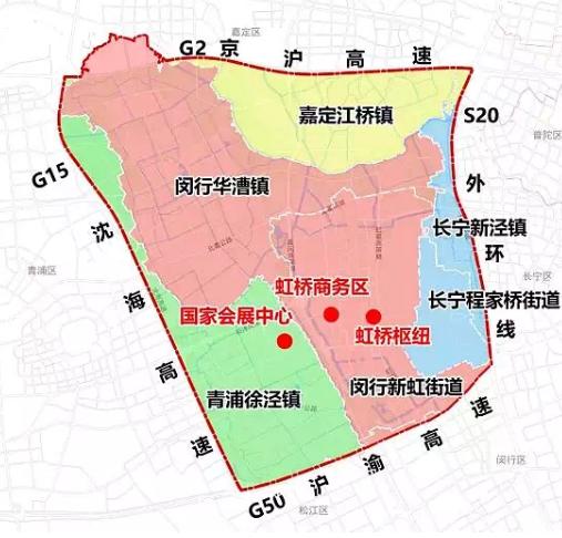 申昆路是上盖综合开发项目,也是上海市虹桥商务区浓墨重彩的一笔