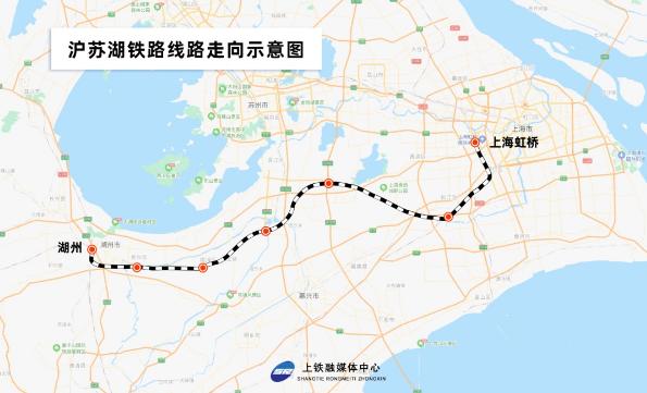 往返上海虹桥站将添新捷径!这个重大工程正在建设中