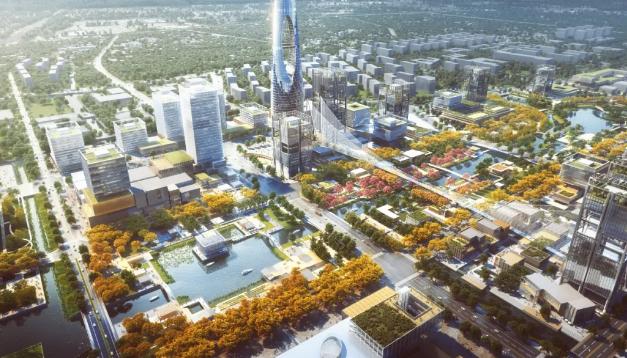 虹桥国际开放枢纽 上海四区齐发力